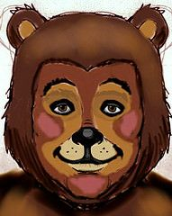 Bear makeup design (costume session) (Bournageddon) Tags: bear face animal painting facepainting costume paint teddy character makeup