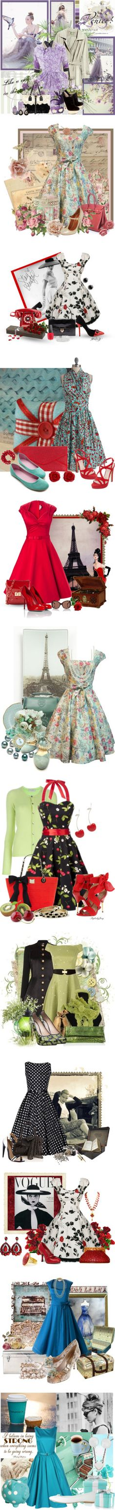 """""""swing dress best"""" by countrycousin ❤ liked on Polyvore"""