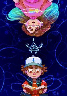 Gravity Falls poster and stickers. Gravity Falls Poster, Gravity Falls Fan Art, Mystery Of Gravity Falls, Disney Memes Clean, Disney Puns, Disney Art Style, Dreamworks, Fall Drawings, Easy Disney Drawings