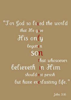 John 3:16 valentine printable