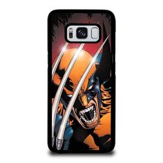 WOLVERINE CLAW X-MEN Samsung Galaxy S3 S4 S5 S6 S7 S8 Edge Plus Note Case Cover