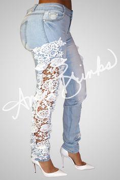 White Lacie Jeans | Shop Angel Brinks on Angel Brinks
