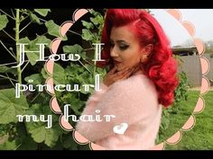 How I do My Pin Curls - YouTube