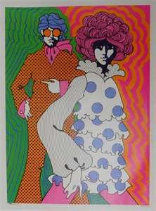 Pop Art - The vibrant colors in this poster really make it stand out and is a true testament to the art style in the Art Hippie, Hippie Style, Art Et Illustration, Illustrations, Illustration Fashion, Illustration Children, Psychedelic Art, Psychedelic Fashion, Art Furniture