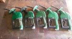 Just a few gas pump handles.