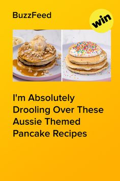 Tim Tam, Golden Gaytime, fairy bread or lamington — which Aussie pancake stack would you choose? Ice Cream 4, Fairy Bread, Aussie Food, Shortbread Biscuits, Tim Tam, Pancake Stack, Chocolate Ganache, Pancakes, Raspberry