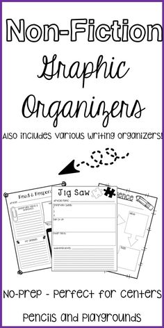 This resource will help your students think deeply about their reading, work on identifying text structure, text features, and practice using context clues. Your students will love using these graphic organizers to write about and reflect on their reading