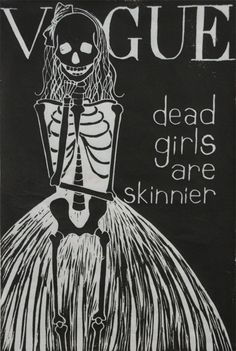 dead girls are skinnier than you