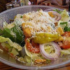 Olive Garden Recipes: Olive Garden's Salad and Dressing Secret Recipe #olivegardenrecipes