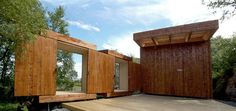 Norwegian Wood: Garden Sheds, Retractable Roof and Walls Included