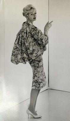 Werle Fashion Model Couture Designer John Engstead BW Photo Vtg Hollywood E
