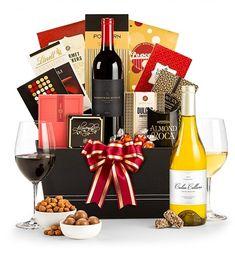 Wine Baskets: The Royal Treatment Wine Gift Basket