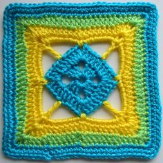 Ravelry: Diamond in a Square by Jan Eaton