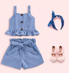 Vintage Dress Patterns, Vintage Dresses, Frocks For Girls, Girls Dresses, Latest Fashion For Women, Kids Fashion, Short Niña, Girls Frock Design, Baby Frocks Designs
