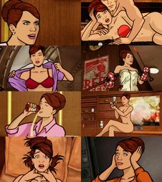 a modern animated bombshell. Archer Tv Show, Archer Fx, Cheryl Tunt, Sterling Archer, Comedy Tv Shows, Danger Zone, Bojack Horseman, American Dad, Adult Cartoons