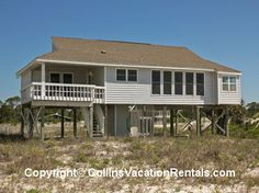 Just A Splash ~ East End ~ Beach Front ~ St. George Island Florida - Collins Vacation Rentals