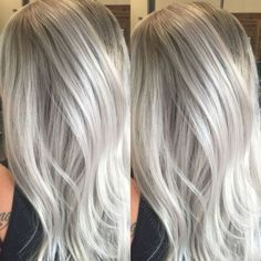 Silver hair, grey hair, white hair by sybil