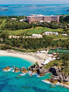Fairmont Southampton luxury resort in Bermuda.