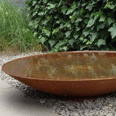 Buy Waterbowl Outdoor Corten Steel Bowl Rusty cm from Currently in stock. Up to 5 years warranty on products. 30 days return and refund. Flexible and affordable delivery costs. Rusty Garden, Corten Steel Planters, Weathering Steel, Large Planters, Ponds Backyard, Small Garden Design, Water Garden, Garden Bed, Small Plants