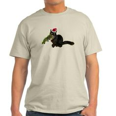 Cat Christmas Tree T-Shirt
