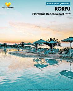 Mareblue Beach Resort 🧡🧡🧡🧡 Görögország, Korfu, Agios Spyridon  Hatalmas területen elhelyezkedő létesítmény kiváló ár-érték aránnyal, amely nyugodt elhelyezkedésének köszönhetően ideális választás egy családi nyaraláshoz.  www.neckermann.hu/szallas/mareblue-beach-resort/54064?catalog=NAH Naha, Beach Resorts, Movies, Movie Posters, Films, Film Poster, Cinema, Movie, Film