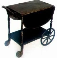 Image result for rustic tea wagon