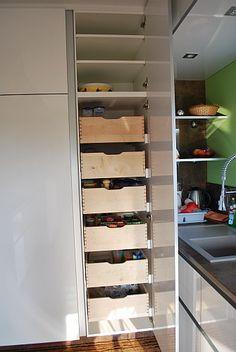 next125 - NX 902 Glas matt indigoblau | Kitchen | Pinterest ... | {Vorratsschrank mit auszügen 19}