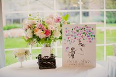 How whimsical! Photography By / http://kristinlavoiephotography.com,Floral Design By / http://petalplaydesign.com