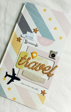 #travel #journal by Anabelle O'Malley for Gossamer Blue