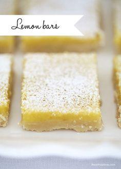 Lemon Bars...yum