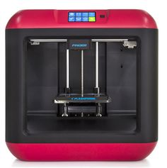 $699 Meet the FlashForge Finder: a 3D printer designed with beginners and educators in mind. It has a slide-in build plate, assisted bed-leveling, and a touchscreen interface to make the job easier for newbies. It uses non-toxic PLA and comes with the heated components safely encased. Here are the specs: Build Volume: 140 L x 140