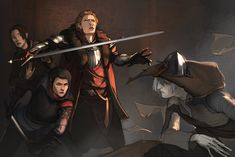 I loved that scene. The first thing Cullen did was move in front of the Inquisitor.