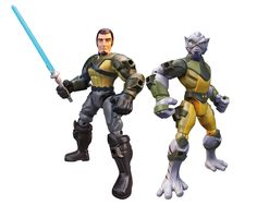 KANAN and ZEB from the STAR WARS: REBELS HERO MASHERS 2015 'Age of Ultron' Product Line