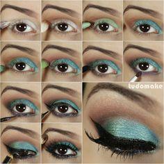 Make up Sereia. #passoapasso #Divino