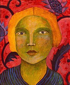 ♀ Painted Art Portraits ♀ Julia Zanes
