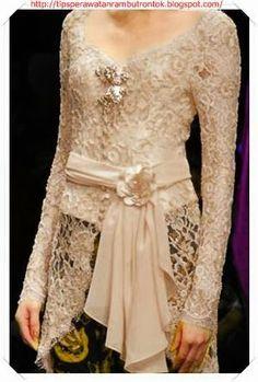 Baju Kebaya Gamis Brokat 2018 Kebaya Bali Modern, Model Kebaya Brokat Modern, Kebaya Modern Hijab, Kebaya Hijab, Kebaya Muslim, Vera Kebaya, Kebaya Lace, Kebaya Dress, Batik Kebaya