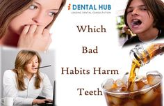 In our daily life, there are several habits that create lots of trouble for teeth. These bad habits can result into loss of your teeth or even sometimes require a costly teeth repair.