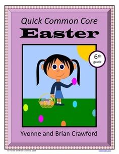 Easter Quick Common Core (sixth grade) $