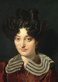 Portrait de Madame Marcotte de Sainte Marie, by Jean Louis Domonique Ingres.