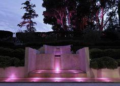 The fountain of the Acquaviva Hotel