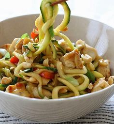 RecipesLite | | KUNG PAO CHICKEN ZOODLES FOR TWO
