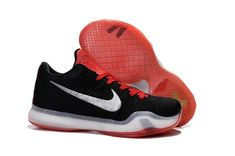 The cheap Authentic Kobe 10 Elite Woven Black Red White Shoes factory store  are awesome pair of shoes but it seems the super high top design isn t for  ... d4fbe2480c47