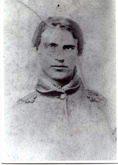 From submitter Miriam J. Robbins:  My great-great-great-grandfather, Sylvester Fredenburg (1844 - 1879), who served in Co. A, 50th New York Engineers; Co. I, 33rd New York Infantry (twice); and Co. L, 50th New York Engineers. Photo c. 1861-4, probably in the Town of Jerusalem, Yates (now Potter) Co., NY.