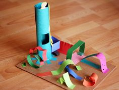 S is for sculpture - Creating 3-D Paper Sculptures With Kids