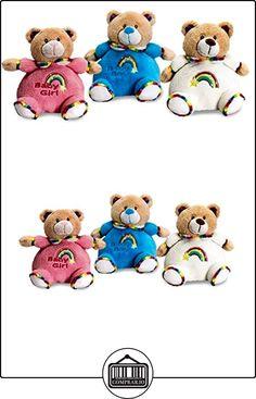 Keel Toys Rainbow oso Puffball de peluche 26cm rosa rosa Talla:26 cm  ✿ Regalos para recién nacidos - Bebes ✿ ▬► Ver oferta: http://comprar.io/goto/B013HKM0HU
