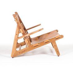 Aiden Teak Lounge Chair | dotandbo.com