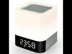 Alisten Portable  Bluetooth 4.0 Speaker LED Light Clock – Desktop Reviews
