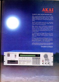 Akai S900 Advertisement