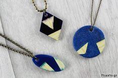 Κοσμήματα με ξύλο και ρητίνη Arrow Necklace, Pendant Necklace, Crafts, Jewelry, Manualidades, Jewlery, Jewerly, Schmuck, Jewels