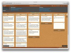 A free digital notecard and cork board web app